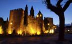 Castle Lit by night