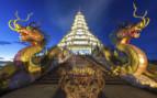 Chiang Rai Wat at Night