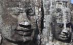Carved Head at Angkor