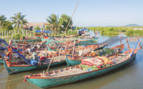 Fishing Boats in Cambodia