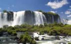 Rushing Iguazu Falls