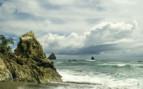Stormy seas in Costa Rica