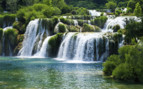 Waterfall in Croatia
