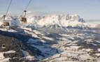 Chairlift in Austrian Alps