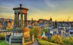 Dugald Steward Monument in Edinburgh