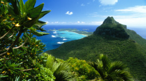 Beautiful view of Lord Howe Island in Australia
