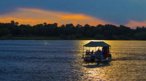 Evening boat trip on the Lower Zambezi