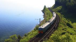 Lake Baikal train ride