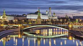 Bolshoy Kamenny Bridge and Kremlin
