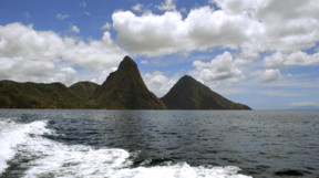 Pitons of St Lucia