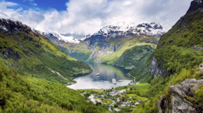Geirangerford in Norway