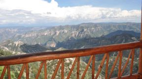 View from the Mirador Hotel, Copper Canyon, Mexico