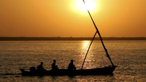 Sunset Dhow, Kenya