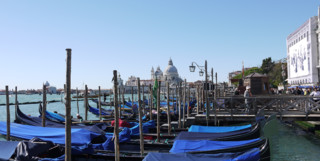 Boats on the Canal in Venice
