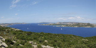 Sea View from Costa Smeralda, Italy