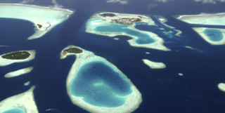 The Male Atoll From The Air