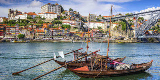 Boats in Porto Harbour