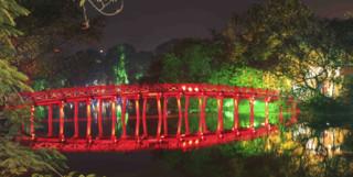 Bridge in  Hanoi