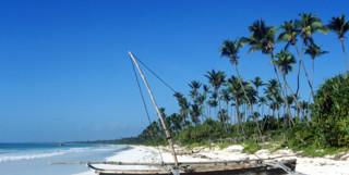 Tanzanian Coast Beach boat