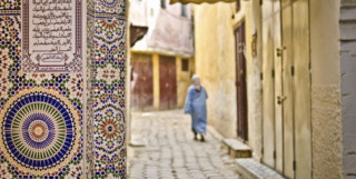 Lady in Meknes