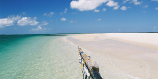 View of a Spice Islands Sandbank, Tanzania