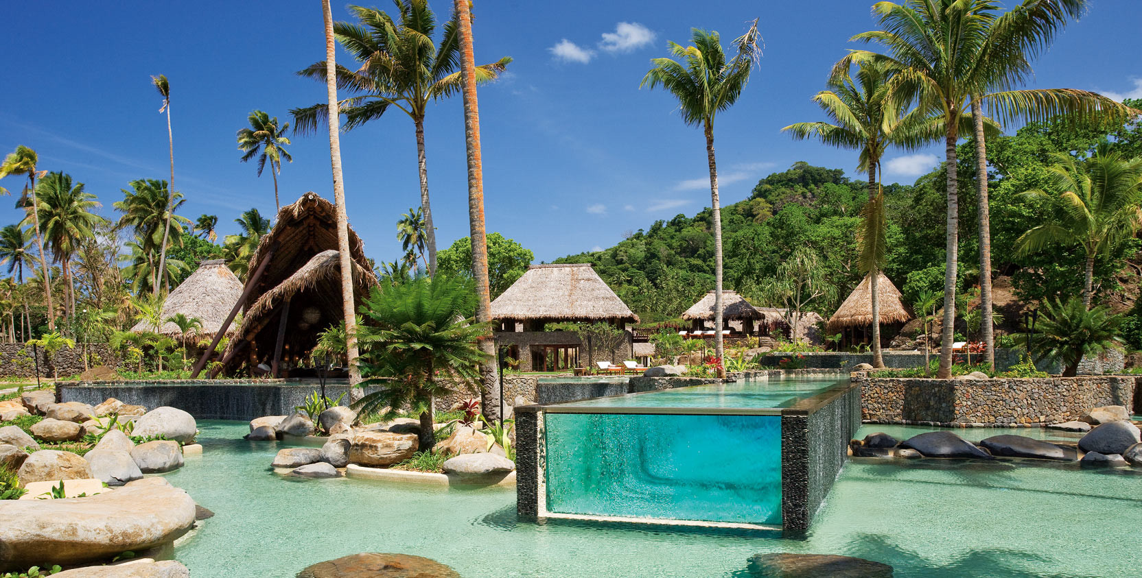 Laucala island resort fiji original diving for Best above ground pools australia