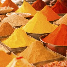 Spices in Marrakech